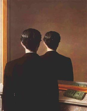 for Rene magritte le faux miroir