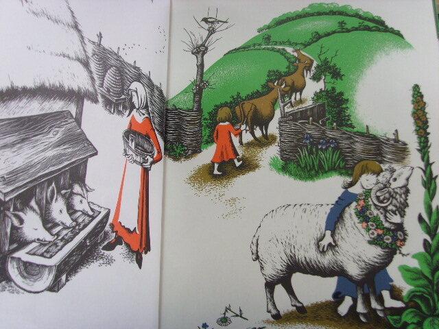 가난하지만 바지런하고 알뜰한 과부가 딸 둘을 데리고 작은 숲 ...