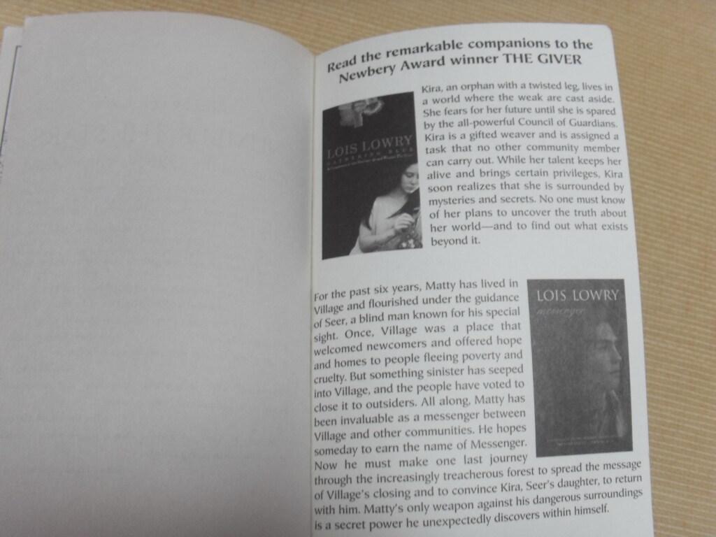 the giver newbery medal winner Bücher bei weltbildde: jetzt the giver von lois lowry bequem online kaufen und einfach per rechnung bezahlen bei weltbildde, ihrem bücher-spezialisten.