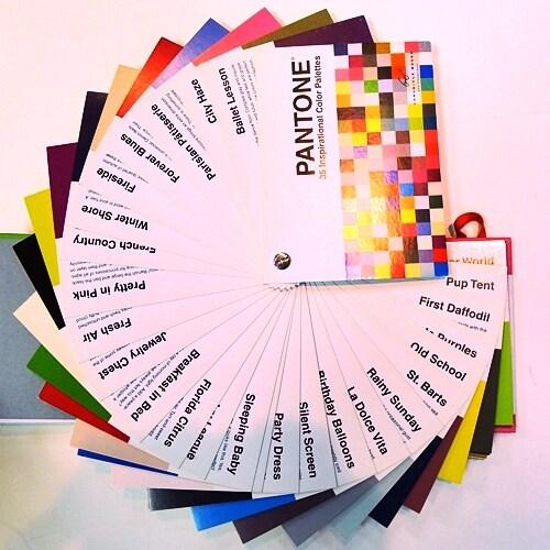 Pantone Inspirational Color Palettes