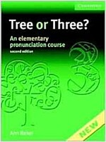 Tree or Three? Student's Book and Audio CD : An Elementary Pronunciation Course (Package, 2 Revised edition)