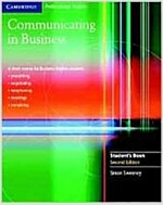 Communicating in Business Student's Book (Paperback, 2 Revised edition)