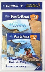 Disney FTR Set 2-33 / Moana Finds the Way (Moana 모아나) (Paperback(워크북 포함)+Audio CD 1종)