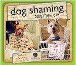 Dog Shaming 2018 Day-To-Day Calendar (Daily)