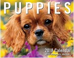 Puppies 2018 Mini Day-To-Day Calendar (Daily)