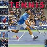 Tennis the U.S. Open 2018 Wall Calendar: The Official Calendar of the United States Tennis Association (Wall)