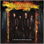 Supernatural 2018 Wall Calendar (Wall)