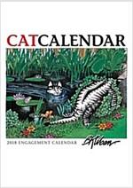 Catcalendar 2018 Calendar (Calendar, Engagement)