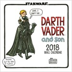 Star Wars Darth Vader and Son 2018 Wall Calendar (Wall)
