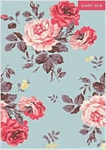 A5 2018 Diary Antique Rose (Hardcover)