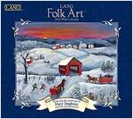 Lang Folk Art 2018 Wall Calendar (Wall)