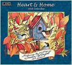 Heart & Home 2018 Wall Calendar (Wall)