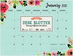 Floral 2018 Desk Blotter (Desk)