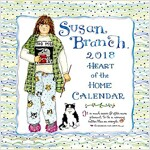 Susan Branch Heart of the Home 2018 Calendar (Wall)