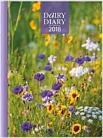Dairy Diary 2018: A5 Week-to-View Diary with Recipes, Pocket and Stickers (Hardcover)
