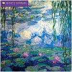 Monet's Waterlilies Wall Calendar 2018 (Art Calendar) (Calendar, New ed)