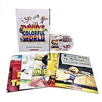 David's Colorful World (5 Books + 1 Audio CD)