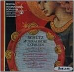 [중고] Vassil Kazandjiev - 쉬츠: 장송음악