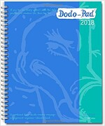 Dodo Pad Desk Diary 2018 - Calendar Year Week to View Diary : The Original Family Diary-Doodle-Memo-Message-Engagement-Organiser-Calendar-Book with Ro (Diary, 52 Rev ed)