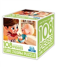 보스 베이비 큐브 직소퍼즐 108조각 : 내 동생