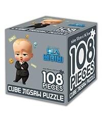 보스 베이비 큐브 직소퍼즐 108조각 : 리틀 보스