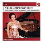[수입] 알리샤 데 라로차가 연주하는 그라나도스 (3CD)