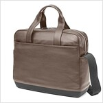 Moleskine Classic Leather Briefcase, Coffee Brown (Other)