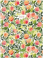 2018 Recipe Diary Peaches Design : A5 Week-to-View Diary with 56 Delicious Triple-Tested Recipes plus a Handy Pocket (Hardcover)