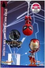 [Hot Toys] cosb371 Spider-Man, Iron Man Mark XLVII, Vulture Collectible Set