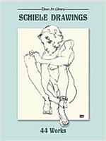 Schiele Drawings: 44 Works (Paperback)