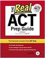 The Real ACT Prep Guide [With CDROM] (Paperback, 3)