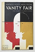 Vintage Postcards from Vanity Fair : One Hundred Classic Covers (Hardcover)