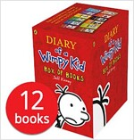 윔피키드 Diary of a Wimpy Kid Box Set (slipcase, 12 paperback, 영국판)