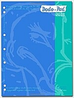 Dodo Pad A4/USA Letter/Filofax-Compatible 2018 Diary Refill, Week to View Diary (Fits 2/3/4 Ring Binders) : A Diary-Doodle-Message-Engagement-Organise (Diary, 52 Revised edition)