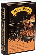Mark Twain: Five Novels (Leather)