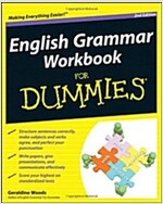 English Grammar Workbook for Dummies, 2nd Edition (Paperback, 2 Revised edition)