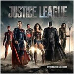 Justice League Official 2018 Calendar - Square Wall Format (Calendar)