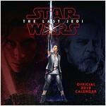 Star Wars: Episode 8 The Last Jedi Official 2018 Calendar - Square Wall Format (Calendar)