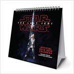 Star Wars Episode 8 The Last Jedi Official Desk Easel 2018 Calendar - Month To View Desk Format (Calendar)