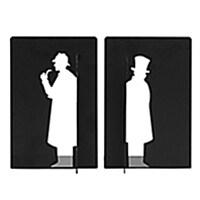 [사은품] 알라딘 북엔드 세트(셜록 홈즈/왓슨)