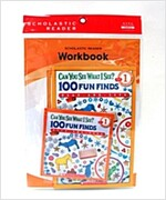 Scholastic Leveled Readers 1-2 : Can You See What I See? : 100 Funfinds (Book + CD + Workbook)