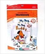 Scholastic Leveled Readers 1-4 : My Dog , Buddy (Book + CD + Workbook)