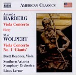 [수입] 아만다 허버그 : 비올라 협주곡, 엘레지 & 맥스 월퍼트 : 비올라 협주곡 1번 '거인'