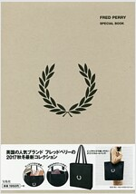 FRED PERRY 2017 AUTUMN & WINTER COLLECTION TOTE BAG BOOK