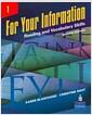 [중고] For Your Information 1: Reading and Vocabulary Skills                                                                                             (Paperback, 2)