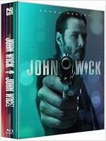 [블루레이] 존 윅 1 & 2 : 1000장 렌티큘러 합본팩 한정판 (2disc)