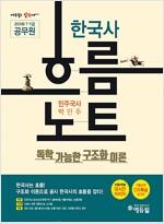 2018 7급.9급 공무원 한국사 흐름노트