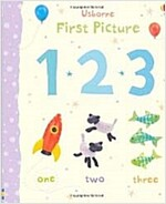 First Picture 123 (Board Book, New ed)