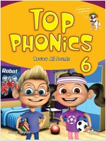 Top Phonics 6 : Student Book (Paperback+MP3 CD)