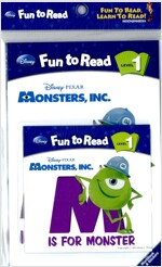 Monsters, INC. : Monsters, INC. Is For Monster (Paperback + Workbook + Audio CD 1장)